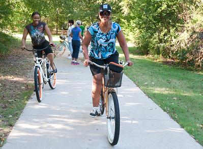 bridges bike riders