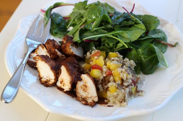 Food Healthy Chicken Mole
