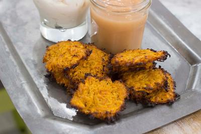 Food Healthy Sweet Potato Latkes