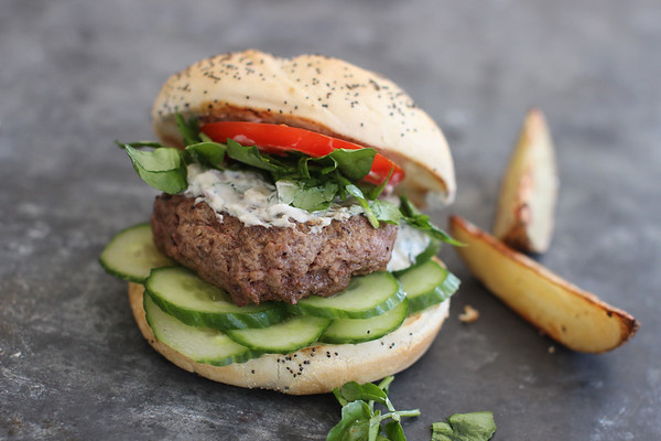 Food Healthy Lamb Burger