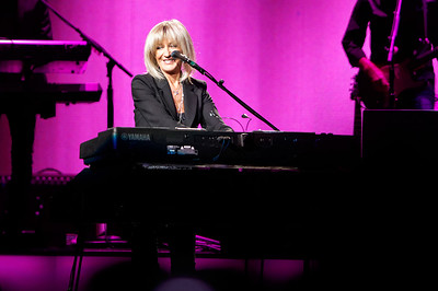 Christine McVie plays piano on stage with Fleetwood Mac on Wednesday, Oct. 22, 2014, at The Palace of Auburn Hills. Photo by Ken Settle-Special to The Oakland Press
