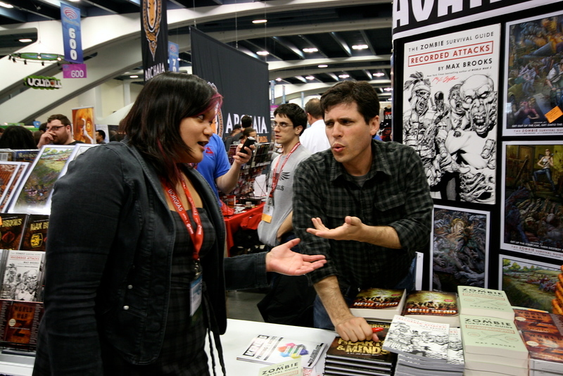 Max Brooks dropping the knowledge.