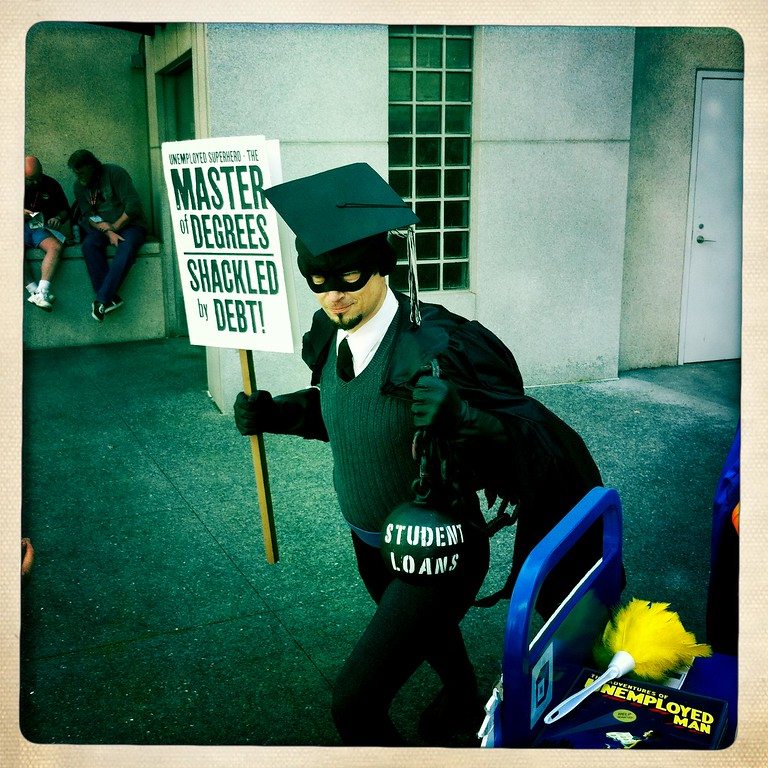 Master of Degrees - Wondercon 2011