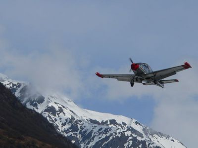 Flight Connection in Valdez