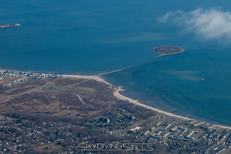 Silver Sands State Park and Charles Island.