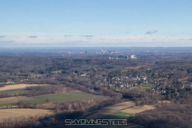 Hartford in the distance.
