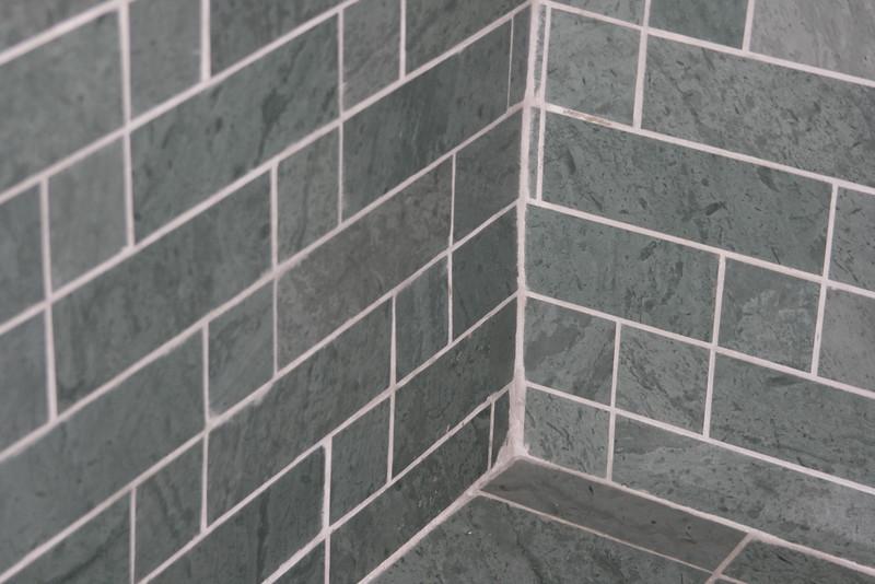 Unfading Green Brick Pattern