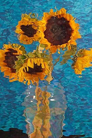 VanGoghish Sunflower