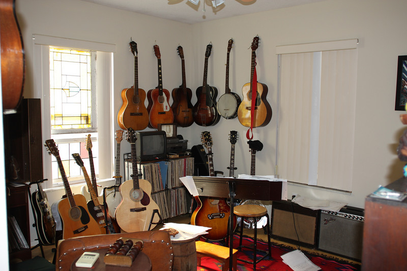 Joe's music room