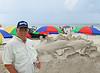 My Friend Ed at Sand Sculpture contest New Smyrna Beach