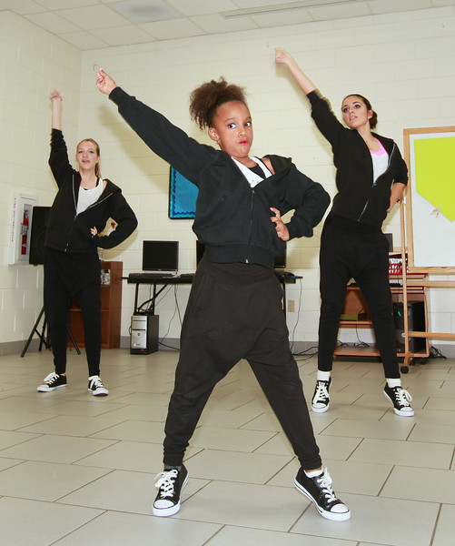 Dancers at Apopka Family Learning Center