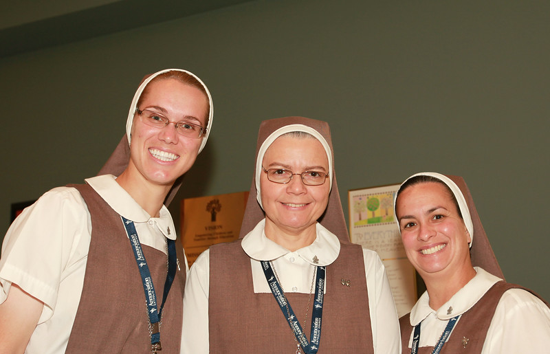 Nuns supporting the Apopka Family Learning Center