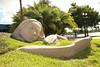 Orlando sculpture at Lake Eola