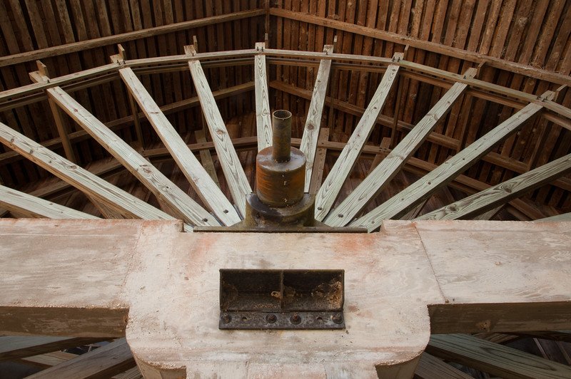 Mill Wheel at De Leon Spring State Park