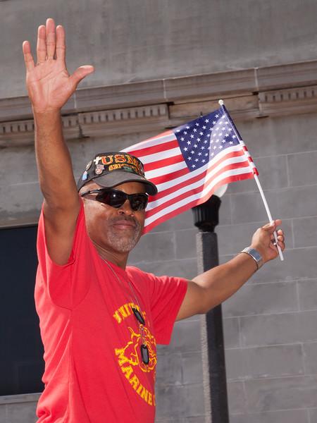 Marine at  Sanford Parade