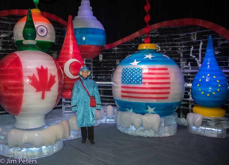 ICE Sculptures at Gaylord Palms Hotel, Orlando