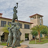 Statue of Liberty Lifted by Soldiers at Saint Leo University