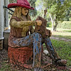 Melrose Florida Statue