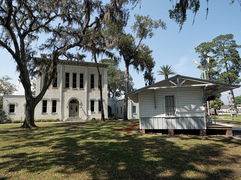 Green Cove Springs Courthouse and Train Station