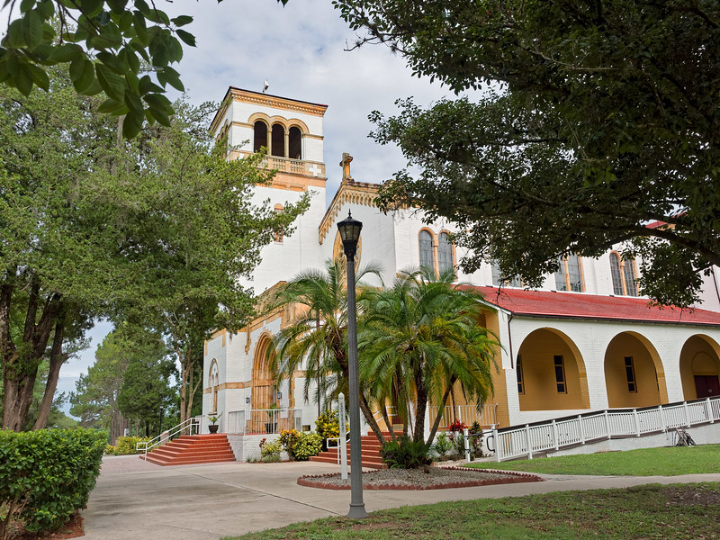 Church of the Holy Cross, St. Leo, Florida