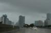 Rainy day in Miami.