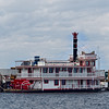 Paddlewheel Riverboat Docked in Green Cove Springs
