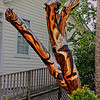 Tree Trunk Art