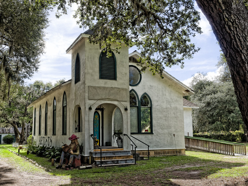 Melrose Florida 1920 Church