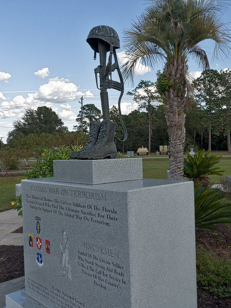 Minutemen Monument at Camp Blanding