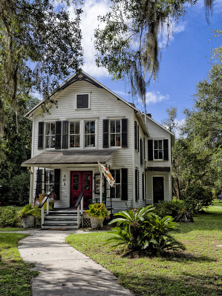 Mossman House, Melrose, Florida