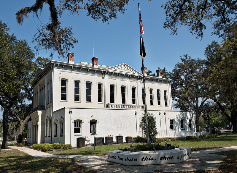 Old Clay County Courthouse in Green Cove Springs