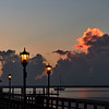 Sunrise at Green Cove Springs Pier