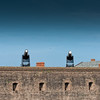 "10"" Rodman Cannons at Fort Clinch"