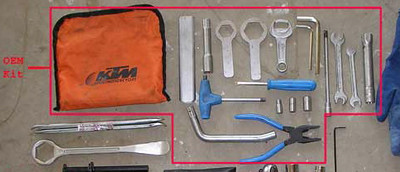 KTM 950 Adventure Toolkit