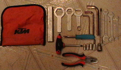 KTM 990 Adventure Toolkit