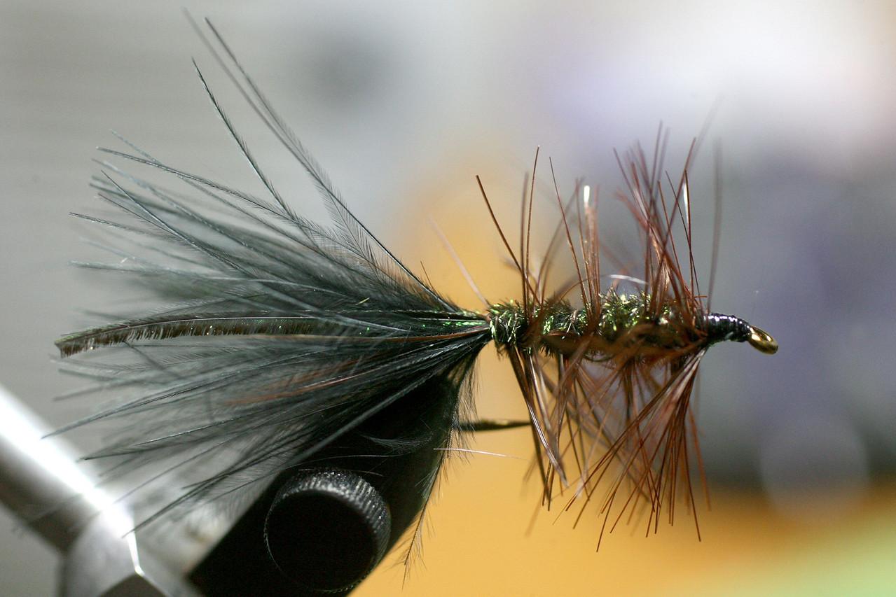 Custom Woolly Bugger w/Peacock Hurl | Tied 4/13