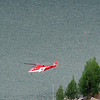 Red Cross helicopter - St.Moritz, Switzerland
