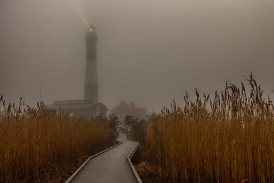 Foggy Fire Island Lighthouse Mar 2017