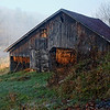 Tobacco Barn at Dawn