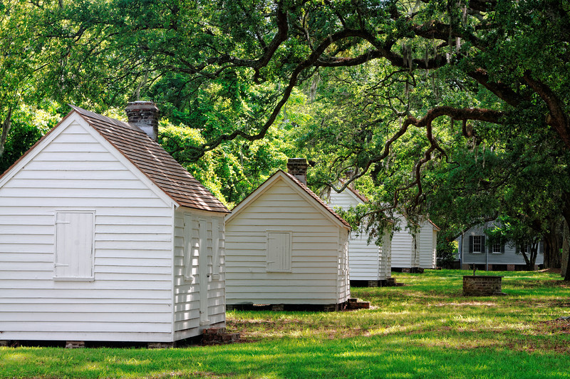 Slave Houses at McLeod Plantation - Folly Island