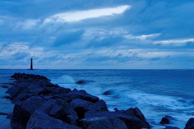 Morris Island Lighthouse at Dawn