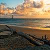 Morris Island Lighthouse at Dawn III
