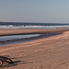 Biking on Morris Island