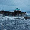 Folly Beach Pier and Morning Waves
