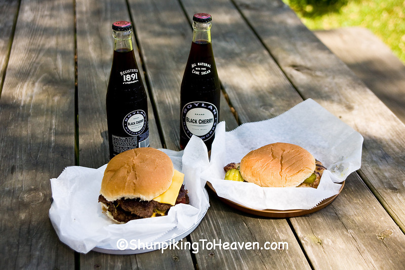 A Delicious Lunch at the Moonshine Store, Clark County, Illinois