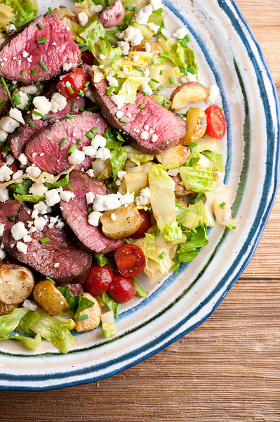 Easy Steak and Potato Salad
