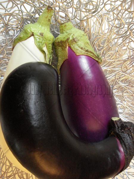 Cuddling Eggplants