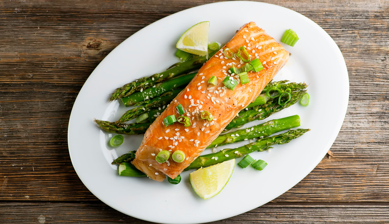 Bourbon Lime Salmon