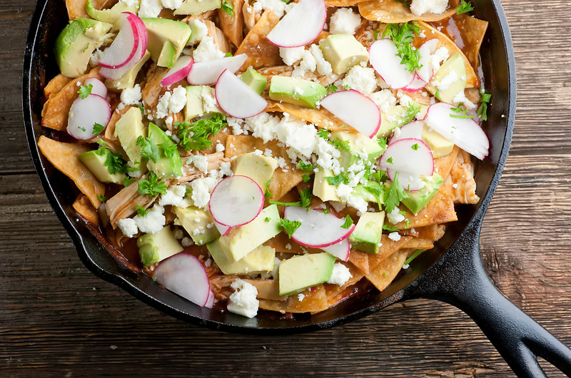 how to make Easy chicken chilaquiles