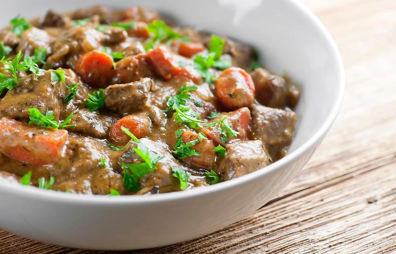 Creamy Mustard Beef Stew
